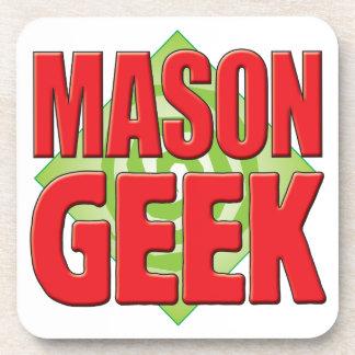 Mason Geek v2 Drink Coasters