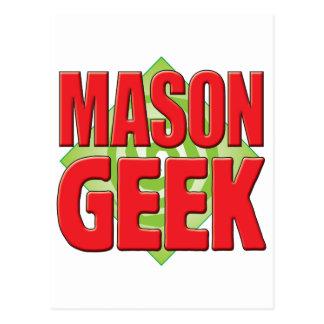 Mason Geek v2 Postcard
