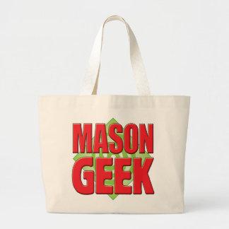 Mason Geek v2 Tote Bags