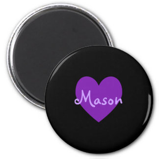 Mason in Purple Magnet
