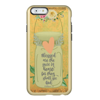 Mason Jar; Bible Verse Incipio Feather® Shine iPhone 6 Case