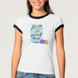 Mason jar Bloom Shirt