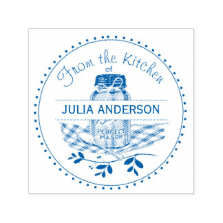 Mason Jar From the Kitchen Self-inking Stamp