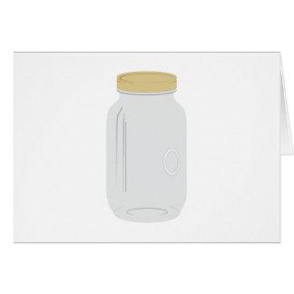 Mason Jar Greeting Card