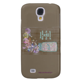 Mason Jar Honor the Past by Living in the Present Galaxy S4 Covers