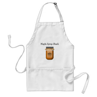 Mason Jar Of Maple Syrup Business Apron