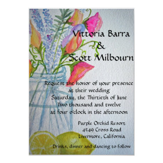 Mason Jar Wedding Invitation #3