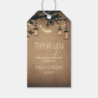 Mason Jars and Fireflies Rustic Wedding