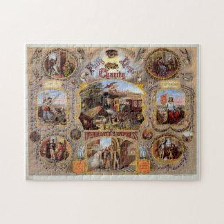 Masonic Anti Drinking Art Puzzle