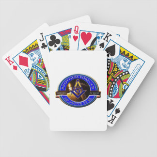 Masonic Brothers Bicycle Playing Cards