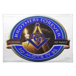 Masonic Brothers Placemat