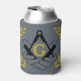 Masonic Can Koozy Can Cooler