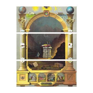 Masonic Chart 2 Canvas Prints