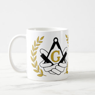 Masonic coffee mug