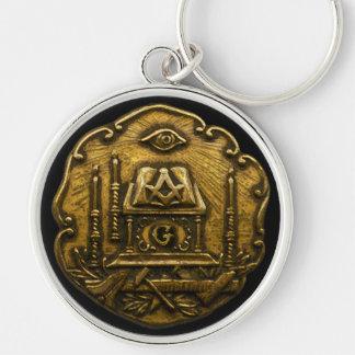 Masonic Emblem Key Ring