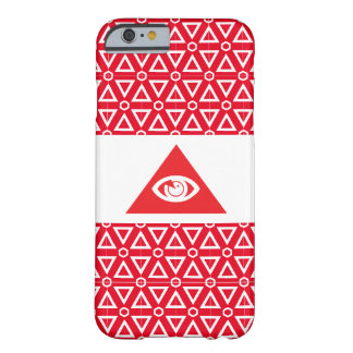 Masonic eye red barely there iPhone 6 case