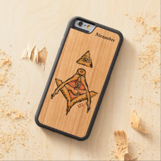 Masonic EyeSs Carved Cherry iPhone 6 Bumper Case