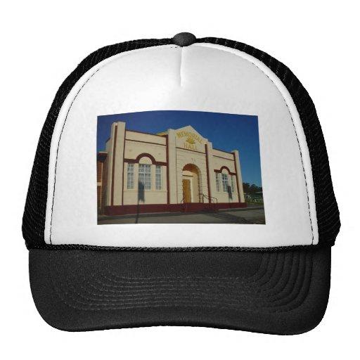 Masonic Hall At Wahroona In Western Australia Hats
