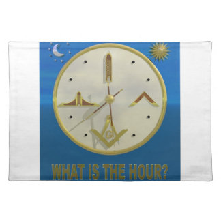Masonic Hour Placemat