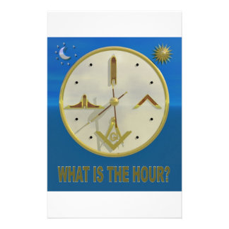 Masonic Hour Stationery
