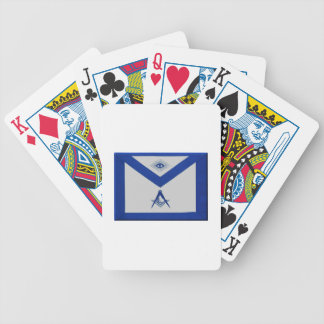Masonic Junior Deacon Apron Bicycle Playing Cards