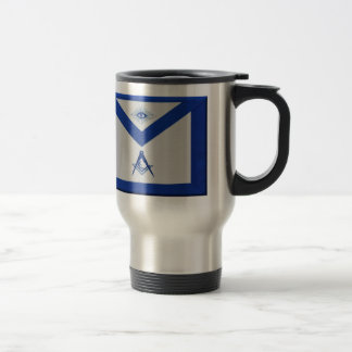 Masonic Junior Deacon Apron Travel Mug