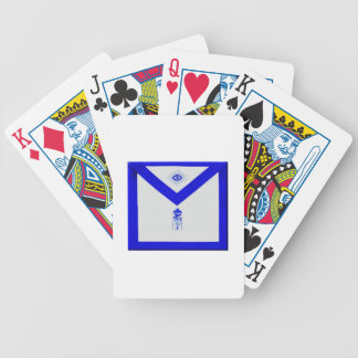 Masonic Junior Warden Apron Bicycle Playing Cards