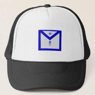 Masonic Junior Warden Apron Trucker Hat