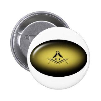 Masonic Light 6 Cm Round Badge