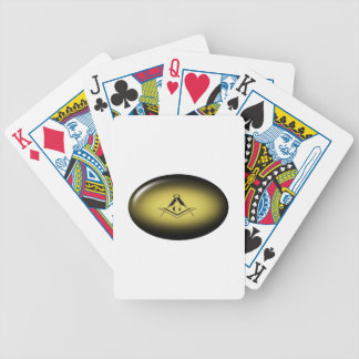 Masonic Light Bicycle Playing Cards