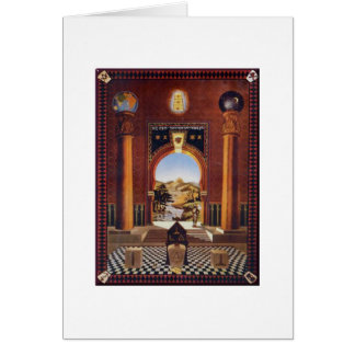 Masonic Lodge Card