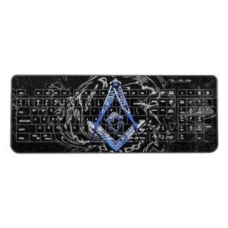 Masonic Minds (BlueSwish) Wireless Keyboard