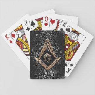 Masonic Minds (GoldenSwish) Playing Cards