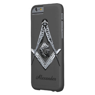 Masonic Minds (Silvery) Barely There iPhone 6 Case