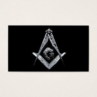 Masonic Minds (Silvery) Business Card