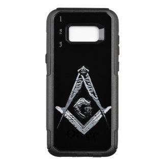 Masonic Minds (Silvery) OtterBox Commuter Samsung Galaxy S8+ Case