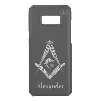 Masonic Minds (Silvery) Uncommon Samsung Galaxy S8 Plus Case