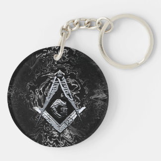 Masonic Minds (SilverySwish) Key Ring