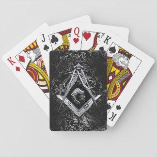 Masonic Minds (SilverySwish) Playing Cards