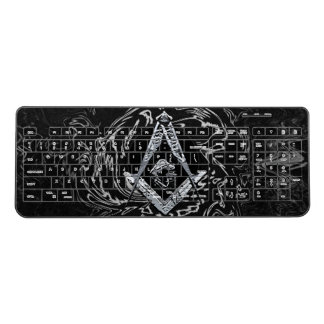 Masonic Minds (SilverySwish) Wireless Keyboard
