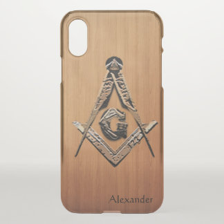 Masonic Minds (Wooded) iPhone X Case