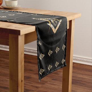 Masonic Minds (Yellowish) Short Table Runner