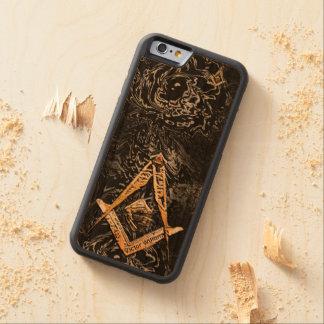 Masonic Minds (YellowSwish) Carved Cherry iPhone 6 Bumper Case