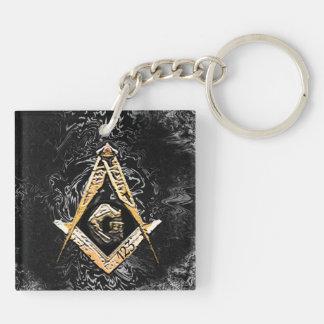 Masonic Minds (YellowSwish) Key Ring