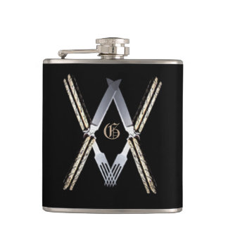 Masonic MouthsSs Hip Flask