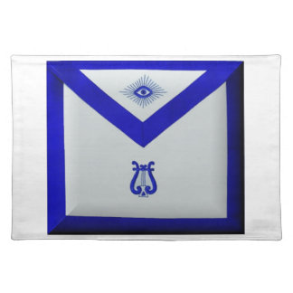 Masonic Organist Placemat
