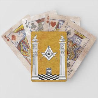 Masonic Playing Cards