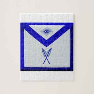 Masonic Secretary Apron Jigsaw Puzzle
