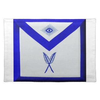 Masonic Secretary Apron Placemat