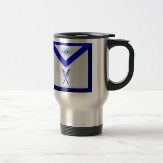 Masonic Secretary Apron Travel Mug